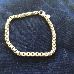 Tiffany & Co. silver Venetian link bracelet